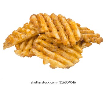 French Fries Waffle Cut