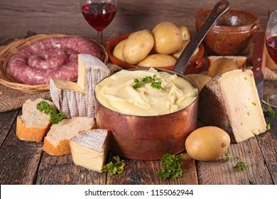 french gastronomy, aligot