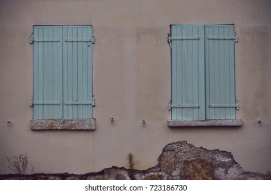 French home and storage shed, Melle, France