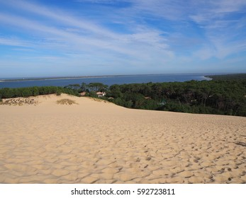 French landscape Atlantic ocean: Dune of Pilat