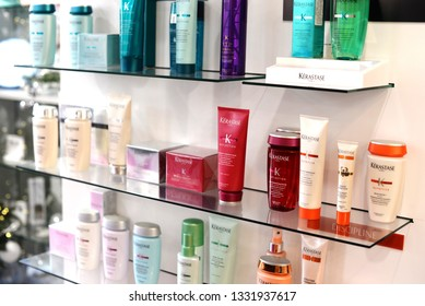 French luxury cosmetics for body, hair and face care. professional makeup loreal kerastase.