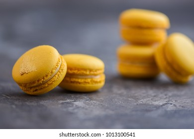 French macaron isolated