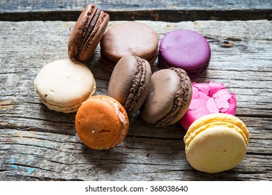 French macaroons/toned photo