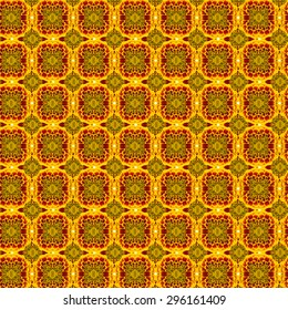 French marigolds seamless pattern background