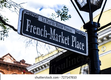 French Market Place Sign  New Orleans