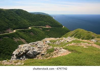 French Mountain. Cape Breton Highlands National Park. Nova Scotia. Canada.