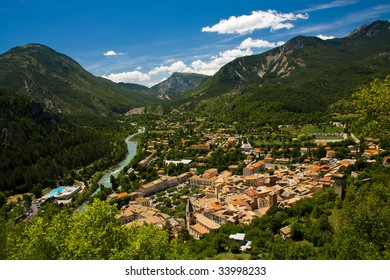 French Mountain view Castellane