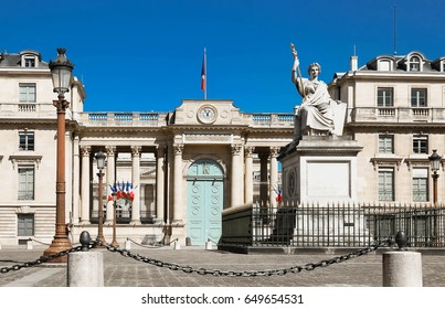The French national Assembly-Bourbon palace, Paris, France.