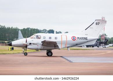French Navy Emb-121AN Xingu captured at the 2019 Royal International Air Tattoo at RAF Fairford.
