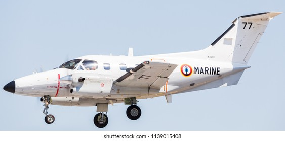 French Navy Emb-121AN Xingu pictured at the 2018 Royal International Air Tattoo at RAF Fairford in Gloucestershire.