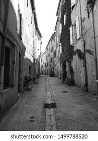 French old alley little village