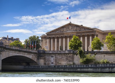 French Parliament in Paris, France