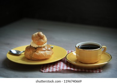 french pastry in cafe, religious