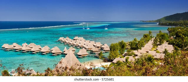 French polynesia landscape