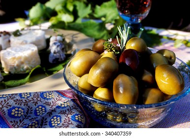 French provincial olives.