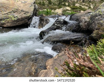 French Pyrenees landscape during summer season