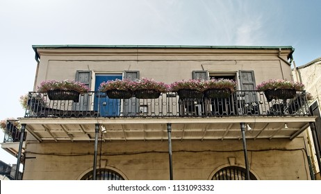 French Quarter Balcony with Plants 9