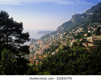 The french riviera provence riviera alpes-maritime france.