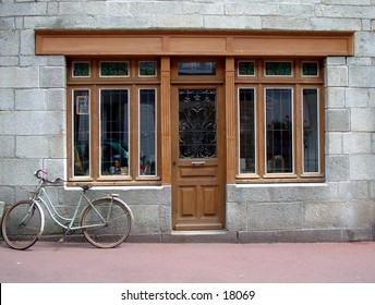 French shop front - blank