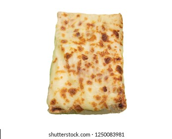 French Tacos Gratin Cheese on top with alpha Background 1