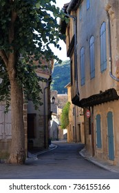 french village of Alet les bains in Aude, Occitanie in south of France