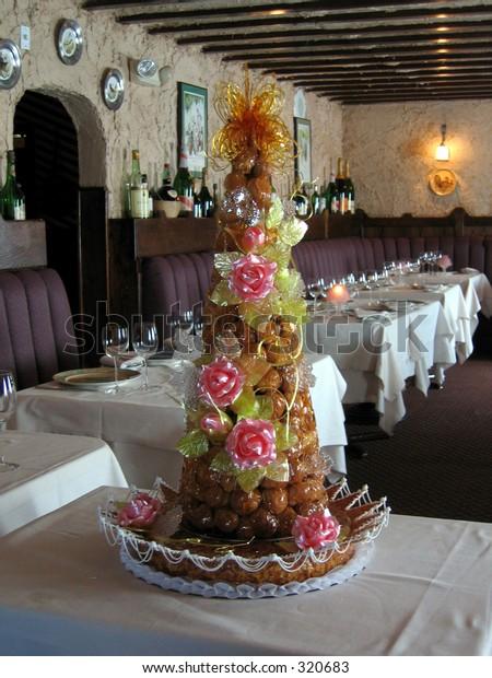 French Wedding Cake.French Wedding Cake Stock Photo Edit Now 320683