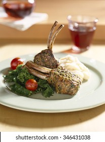 Frenched lamb chops