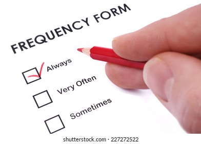 Frequency form
