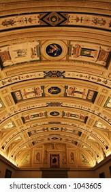 Fresco's in the royal Museum of El Escorial.