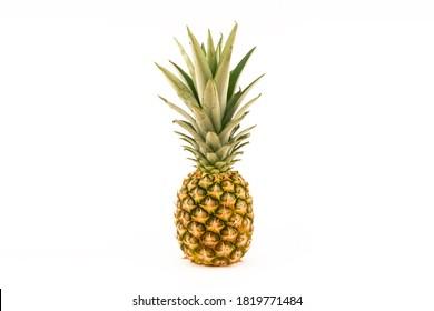 Fresh ananas isolated close up