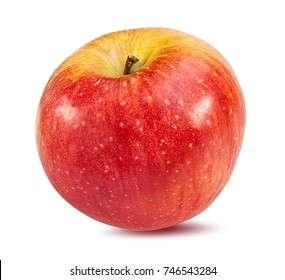 Fresh apple isolated on white background with clipping path