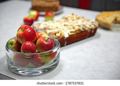 Fresh Apples and Apple Desserts