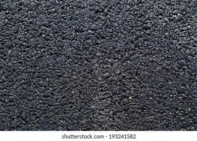 Fresh Asphalt Road Background or Texture