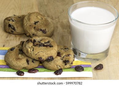 fresh, baked cranberry ,cookies