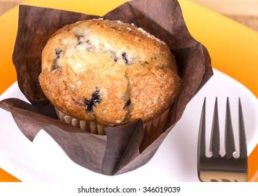 Fresh baked muffin