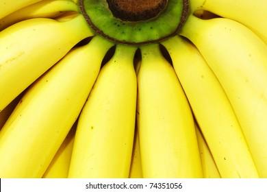 Fresh Banana close up