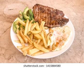 fresh beef steaks for roasting