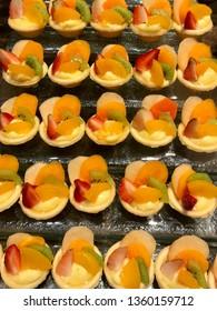 Fresh bekery delicious mix fruit