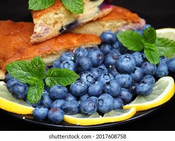 fresh berries cake health home made
