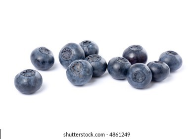 fresh Blueberry with white background