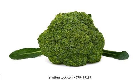 Fresh Broccoli vegetable isolated on white background