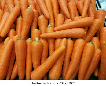 fresh carrot with orange color for background