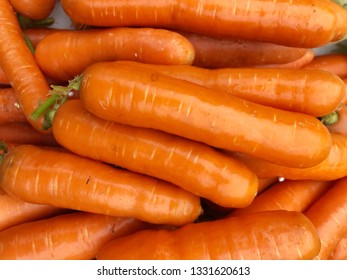 Fresh carrot for sell in the market