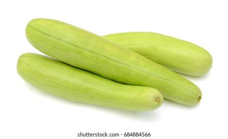 Fresh Cassaba melon fruits isolated on white background