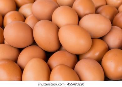 Fresh chicken sold in markets.