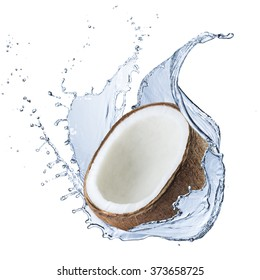 Fresh Coconut and Water Splash