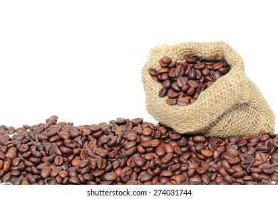 Fresh coffee beans to make a drink.