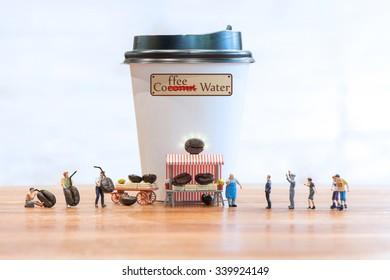 Fresh Coffee Water