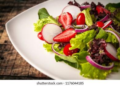Fresh color salad