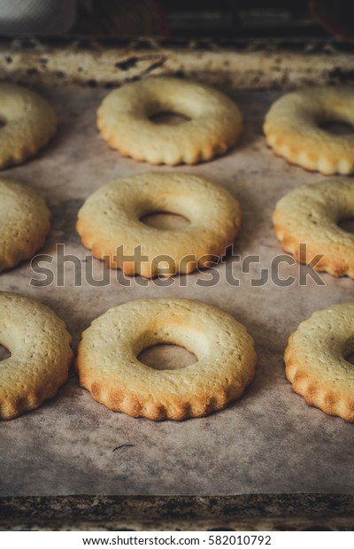 fresh cookies fresh from the oven
